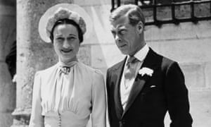 The Duke and Duchess of Windsor in 1937 after their wedding at the Château de Candé in the Loire Valley.
