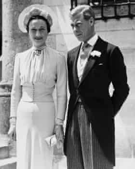 Edward VIII, as the Duke of Windsor, after his wedding to Wallis Simpson.