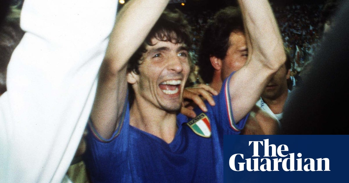 Paolo Rossi, Italian football great and World Cup winner, dies aged 64