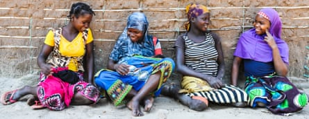 Young teenage brides in the village of Nataka