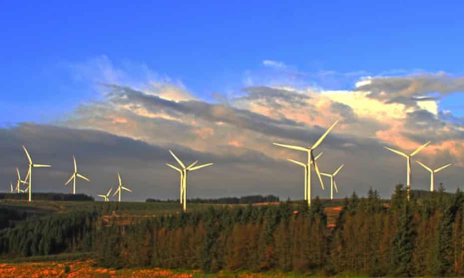 The Pen y Cymoedd wind energy project
