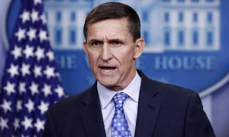 Michael Flynn at the White House in early 2017.