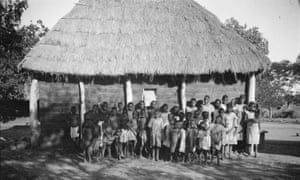 Children at the mission in 1920