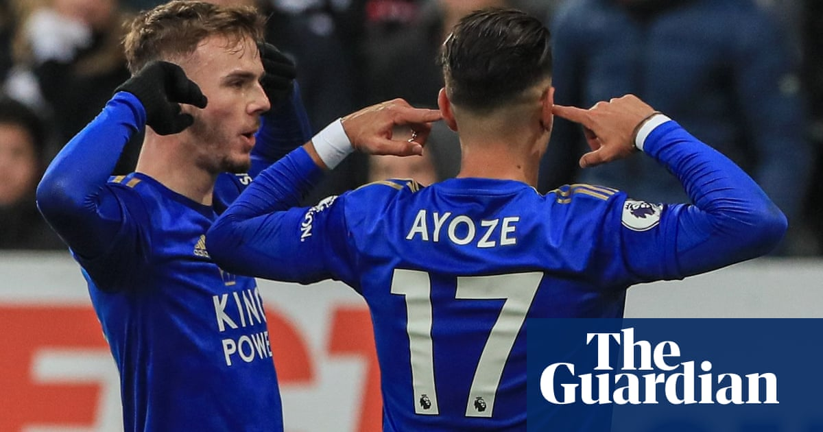 Leicester strengthen grip on second as Maddison sparks win over Newcastle
