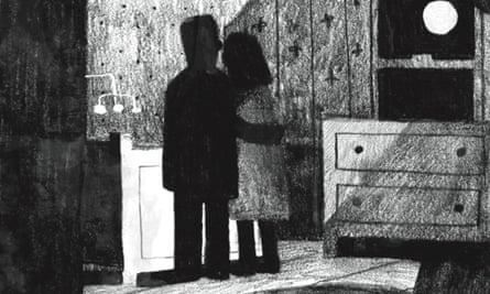 Detail of an illustration by Jon Klassen