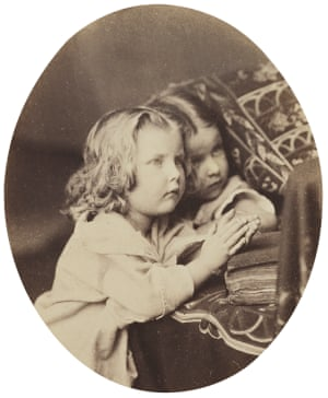 Purify My Heart, also known as The Little Sisters (1863-9) by Oscar Rejlander