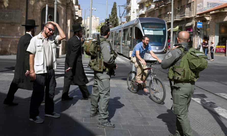 Israel has increased security in Jerusalem in the past days.
