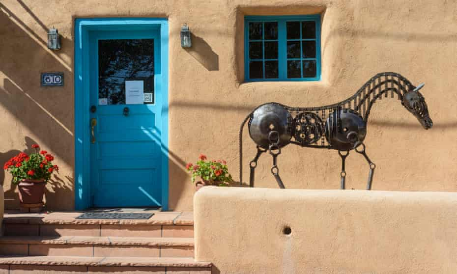 The Zoom boom has brought remote workers seeking to stretch their dollar in relatively affordable places such as Santa Fe.
