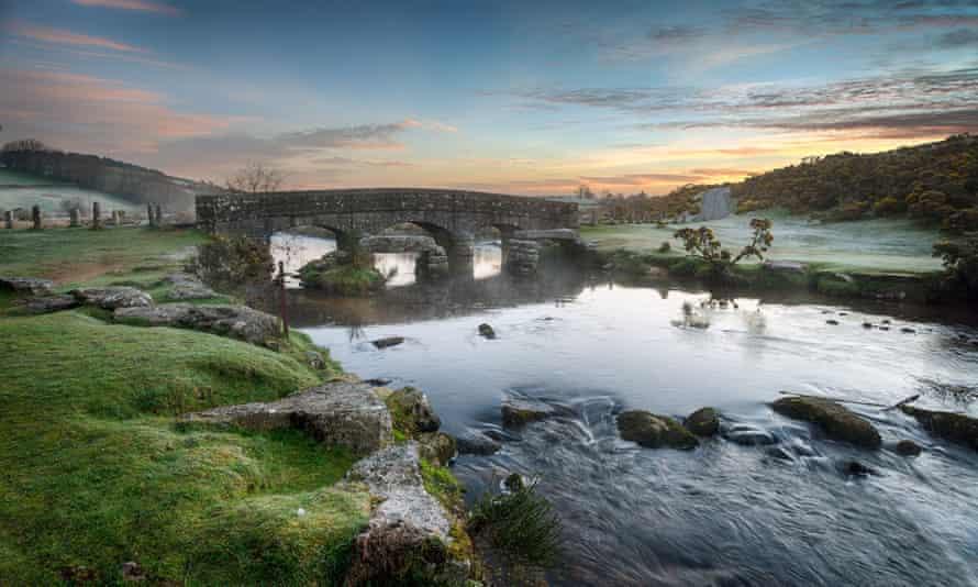 Bellever Bridge on Dartmoor