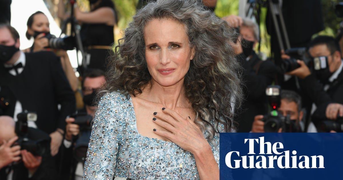 Grey glamour at Cannes film festival as stars show their silver hair