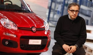Sergio Marchionne at the presentation of the new Fiat Panda in 2011.