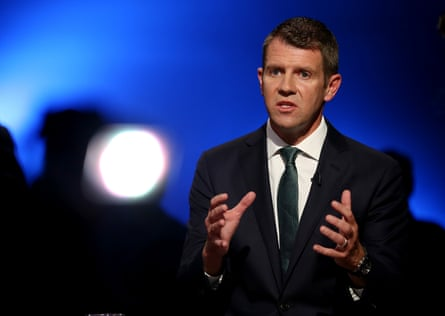 News Corp likened the former NSW premier, Mike Baird, to Kim Jong-un for making important announcements on social media.