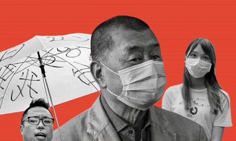 The arrested: Hongkongers caught up in the security law