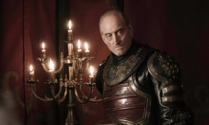 Charles Dance as Tywin Lannister.