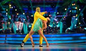 Ed Balls and Katya Jones