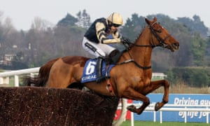 Ruby Walsh and Yorkhil on their way to winning Leopardstown's 2m3f novice chase