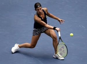 Anastasija Sevastova still finding her rhythm.