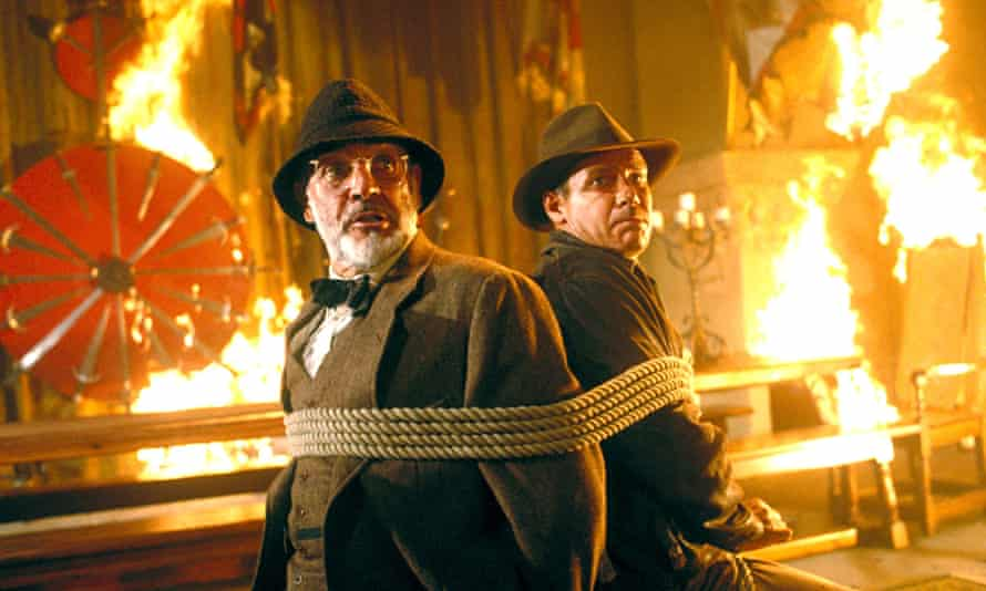 Anything but intolerable … Indiana Jones and the Last Crusade.