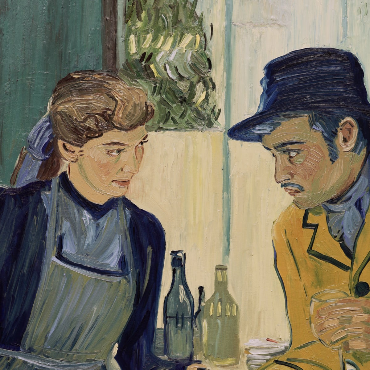 65 000 Portraits Of The Artist How Van Gogh S Life Became The World S First Fully Painted Film Animation In Film The Guardian