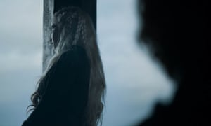 From mother of dragons to mad queen in one scene ... Dany in Game of Thrones.