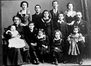 Family picture taken around 1900 of Janet 'Jenny' McCallum (top right) just behind her father. McCallum is reader Sheila Perry's great aunt. Sheila's grandmother is top left.