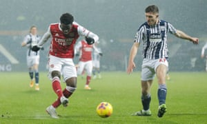 Bukayo Saka of Arsenal.