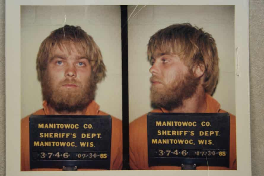 Stephen Avery in Making a Murderer, which is up for the Radio Times audience award