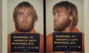 Mug's game: Steven Avery in custody in July 1985.