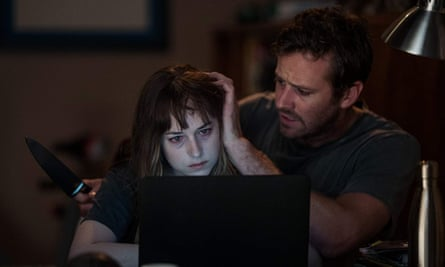 Dakota Johnson and Armie Hammer in Wounds