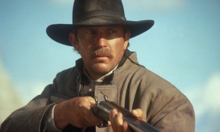 Kevin Costner in the title role in the 1994 film Wyatt Earp