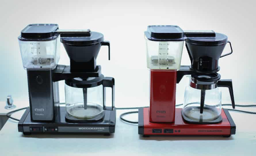 Moccamaster coffee machines.