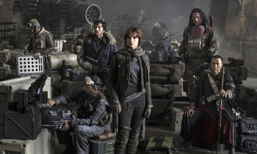 Full disclosure ... details of the Rebel crew in Rogue One: A Star Wars Story have been revealed.