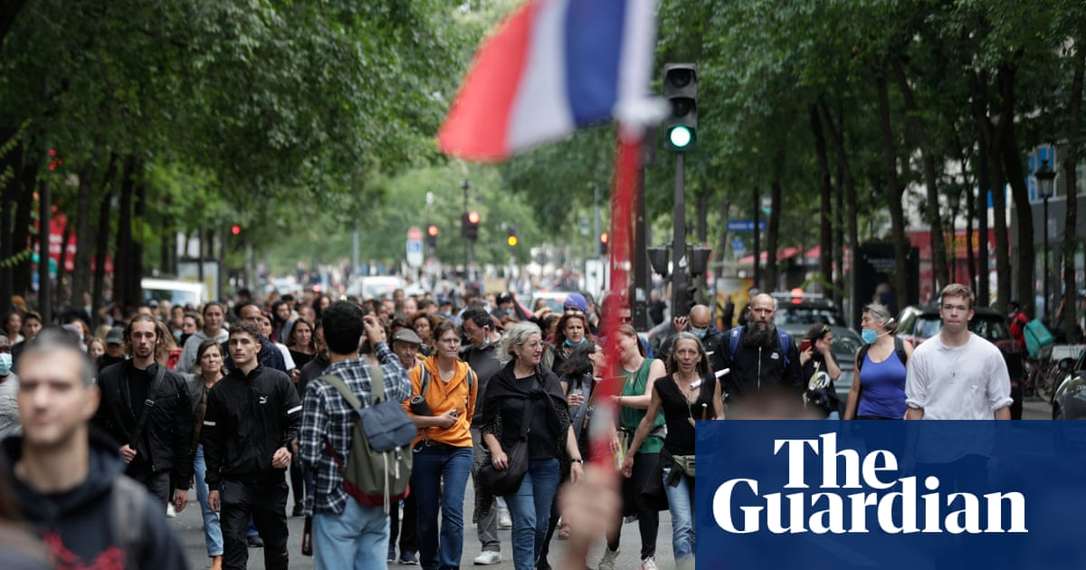 France achieves record Covid jabs with Macron's 'big stick' approach