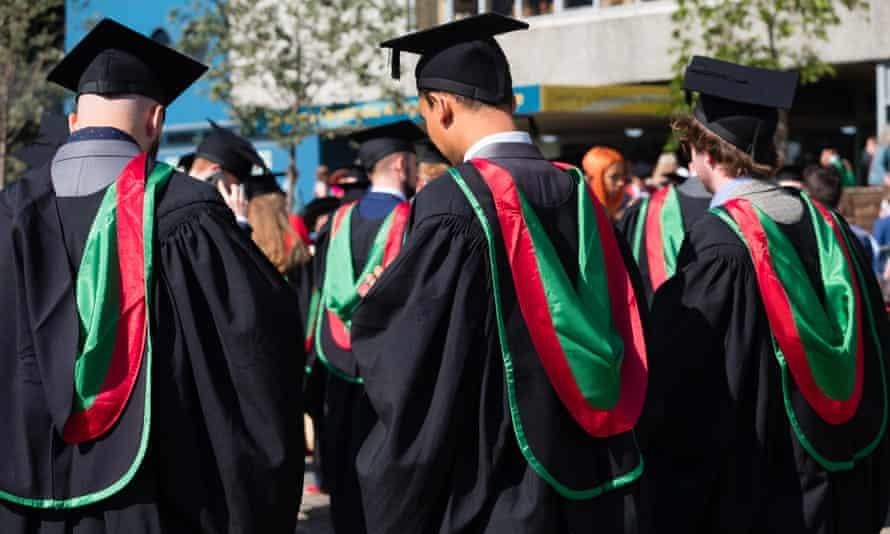 Students at Aberystwyth university