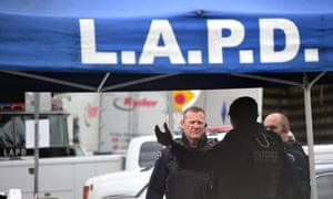 Los Angeles police shoot driver dead after high-speed chase | US