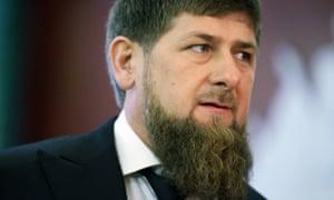 Ramzan Kadyrov, Chechnya's strongman leader.