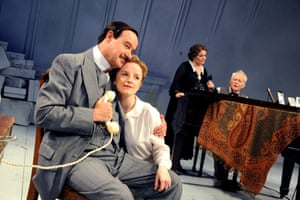 Collaboration is a companion piece to Taking Sides. David Horovitch (Stefan Zweig), Sophie Roberts (Lotte Zweig), Isla Blair (Pauline Strauss) and Michael Pennington (Richard Strauss) in the 2008 production at the Minerva, Chichester.