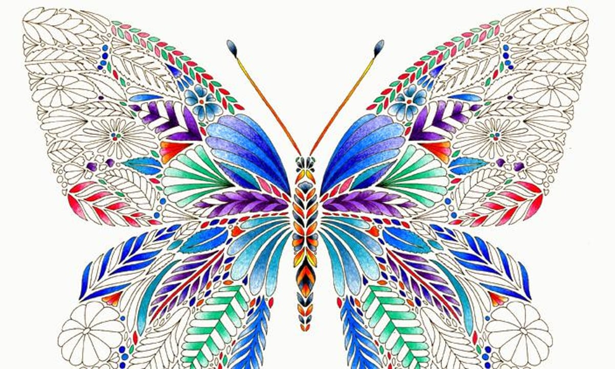 Millie Marottas Tropical Wonderland Colouring In For