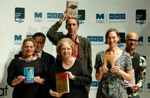 The last time the public connected with the prize? 2012's shortlisted authors (l-r) Deborah Levy, Tan Twan Eng, Hilary Mantel, Will Self, Alison Moore and Jeet Thayil.