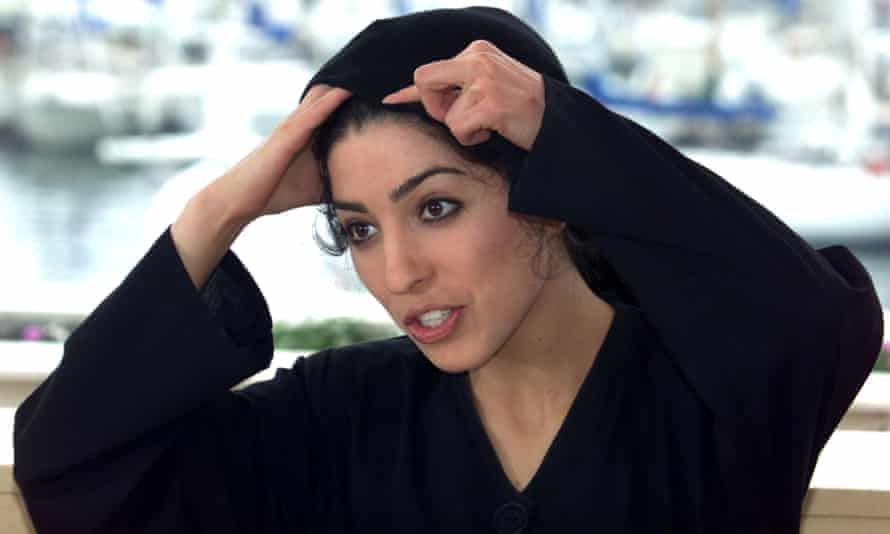 Samira Makhmalbaf at Cannes.