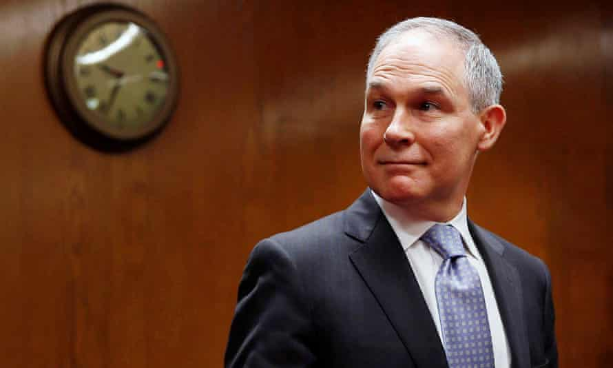 Scott Pruitt is out as EPA administrator. Donald Trump said Pruitt's deputy Andrew Wheeler would take over as acting administrator from Monday.