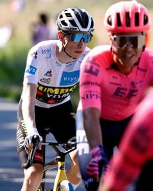 Jonas Vingegaard of Denmark and Team Jumbo-Visma.