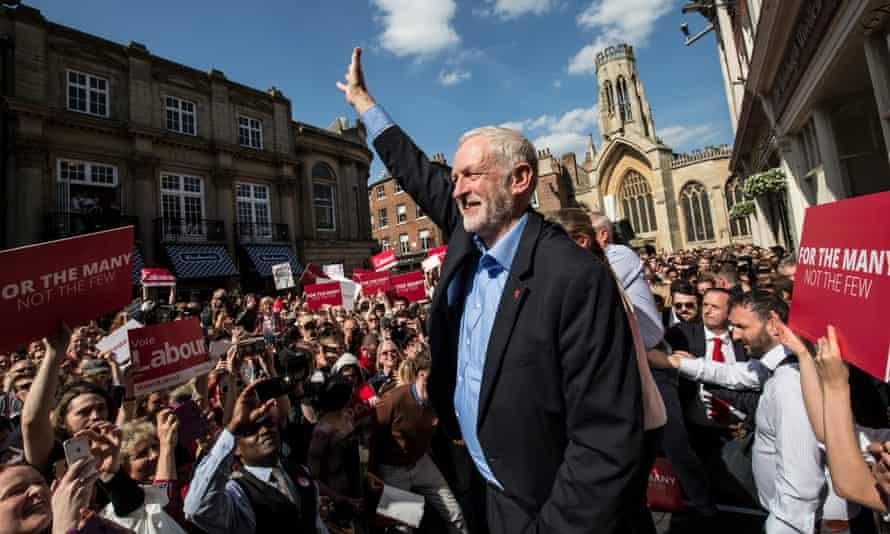 Jeremy Corbyn, who will appear on Glastonbury's main Pyramid stage.