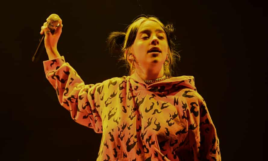 Billie Eilish performs at the Corona Capital festival in Mexico City this month.
