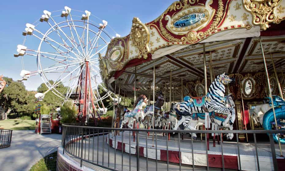 Attractions at Michael Jackson's Neverland Ranch home in Santa Ynez, California.