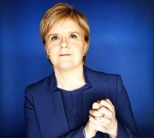 SNP Leader Nicola Sturgeon by Murdo MacLeod