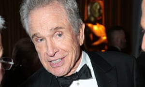 Not in my name … Warren Beatty at the afterparty.