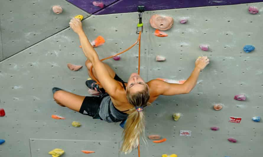 Shauna Coxsey won the bouldering World Cup series in 2016 and 2017 and is hoping to show off her skills on the grandest stage at the Tokyo Olympic Games.