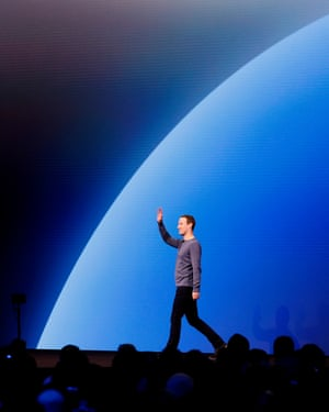 Mark Zuckerberg at the F8 Facebook Developer Conference in April.