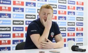 Bolton's manager Neil Lennon